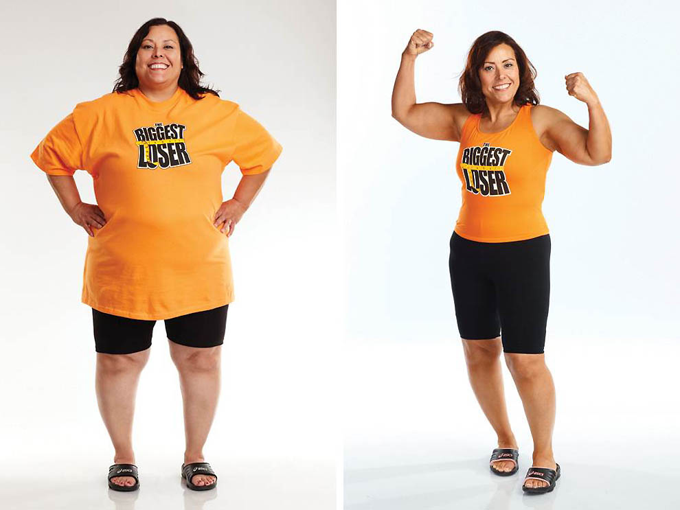 'Biggest Loser 11' до и после