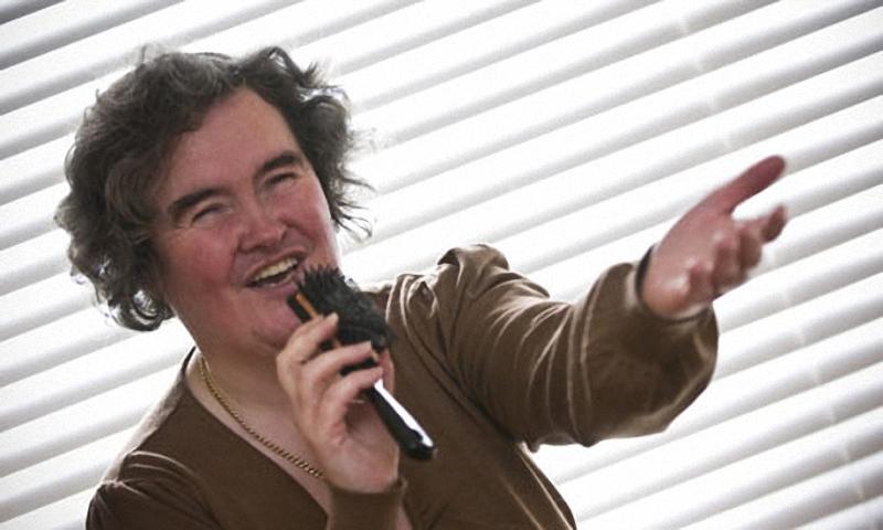 Susan Boyle 001 Продвижение к музыкальному Олимпу было неизбежно