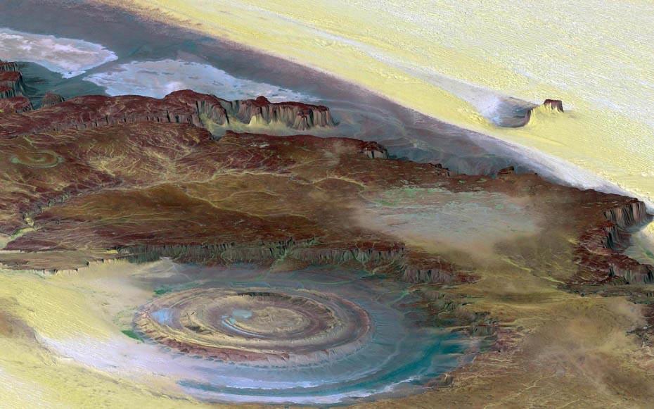 alien14 Неземные пейзажи планеты Земля