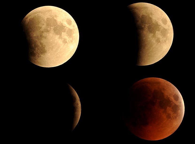gerhana bulan 01 lmuncnnc Total pertama gerhana bulan 2011