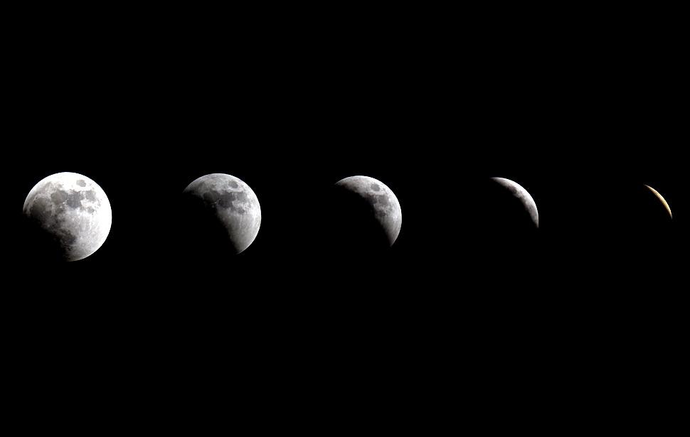 gerhana bulan Total 10 lmumghnc pertama gerhana bulan 2011