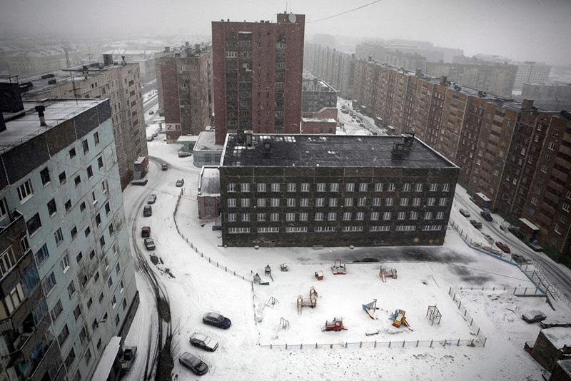 norilsk 0001 Фотоистория Сергея Максимишина: Норильск. Май.