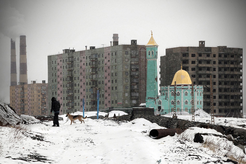norilsk 0004 Фотоистория Сергея Максимишина: Норильск. Май.