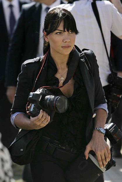 yana06 Cover Girl adalah fotografer pribadi Putin