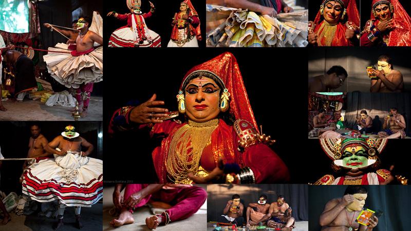 Южноиндийский театр Катакали: Искусство наложения грима