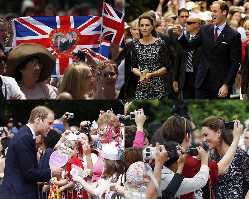 Принц Уильям и Кэтрин Миддлтон путешествуют по Канаде
