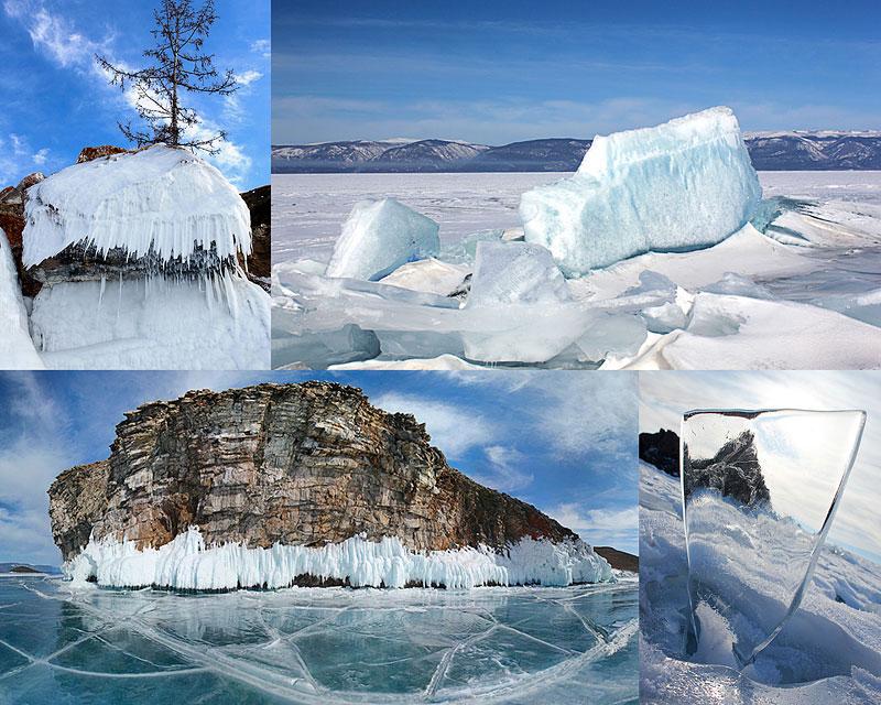 Байкальские льды: март2011