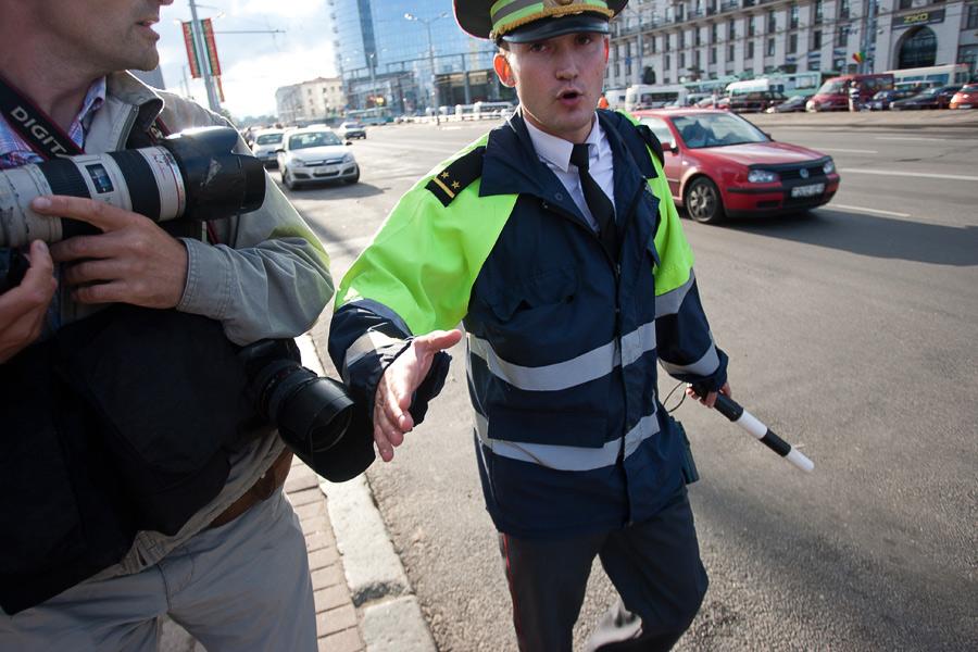 В #Minsk произошли массовые задержания людей лицами в штатском. Применен газ. Обновлено!