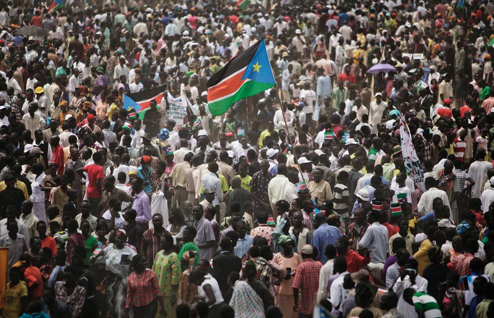 Sudan Selatan - sebuah negara baru di peta dunia
