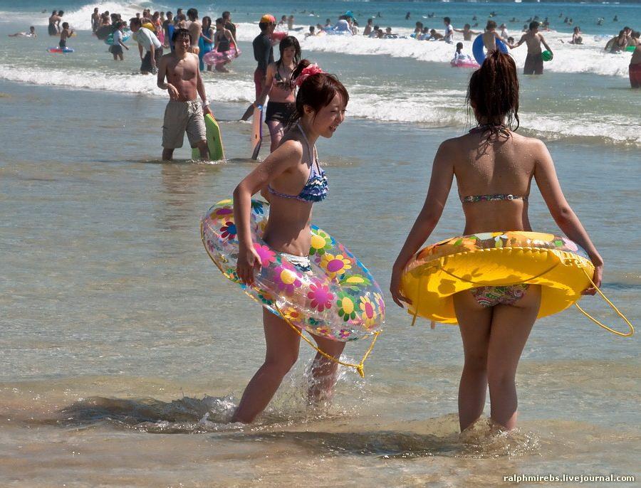 11153 Япония: Особенности японского пляжного отдыха
