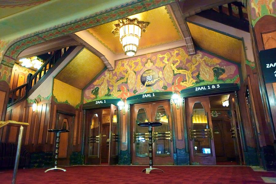 Кинотеатр «Pathé Tuschinski». Амстердам