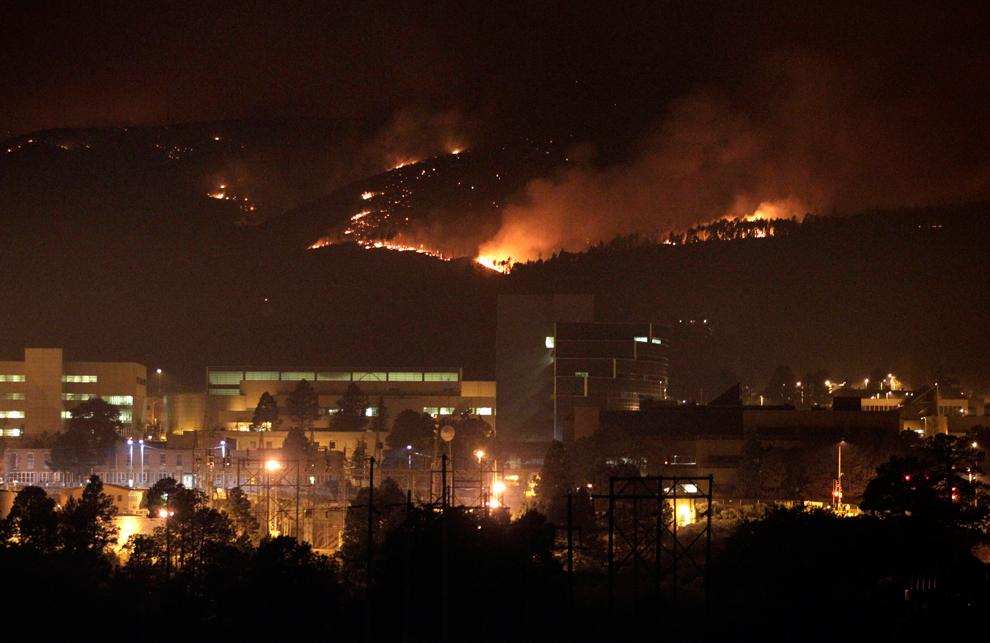 Лесные пожары угрожают АЭС