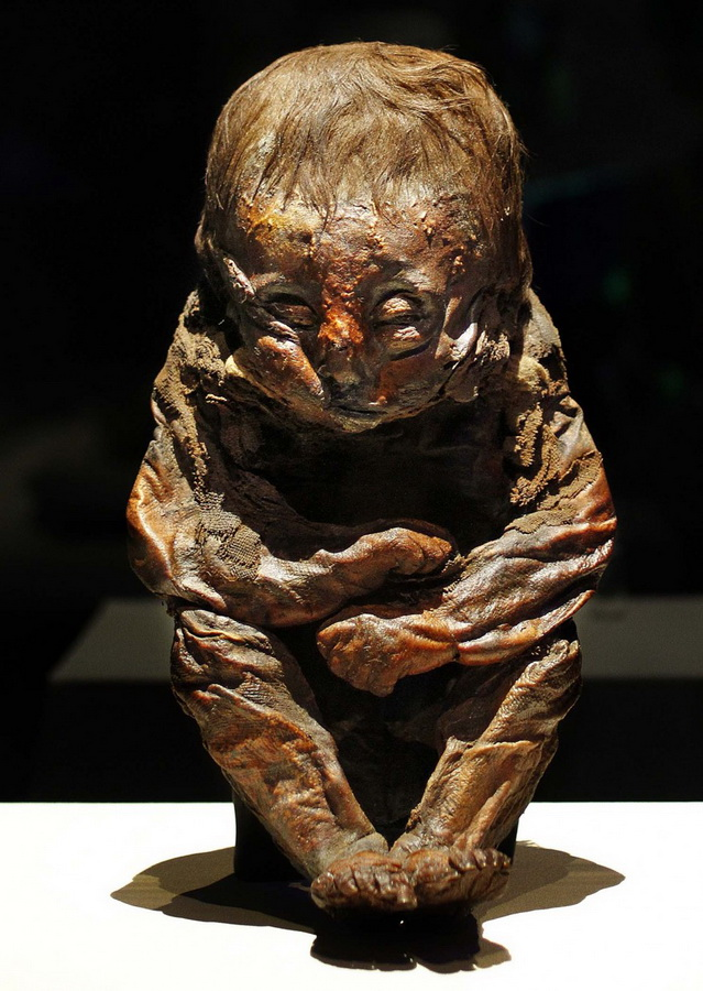 Выставка «Мумии мира» в Филадельфии