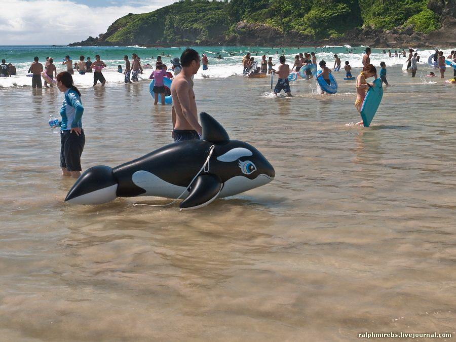 14104 Япония: Особенности японского пляжного отдыха