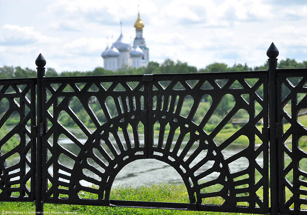 Панорама Вологды