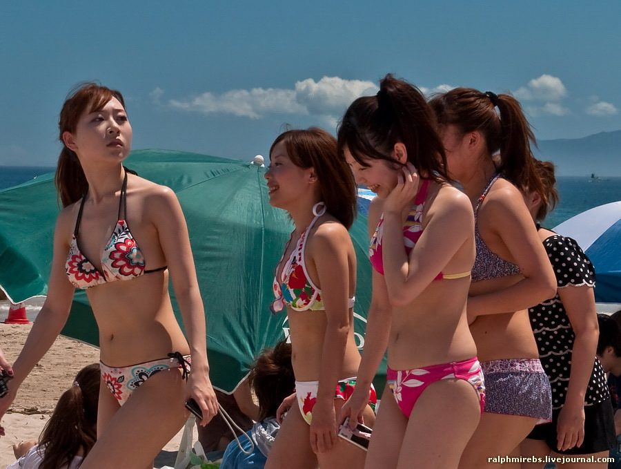 1797 Япония: Особенности японского пляжного отдыха