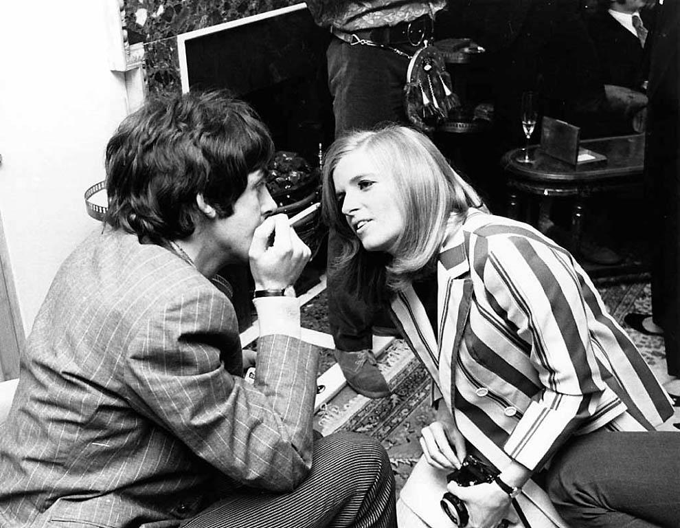 Редкие снимки «The Beatles»
