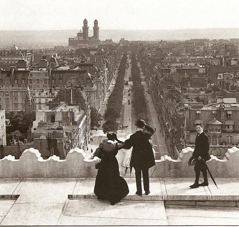 Уникальные виды старого Парижа