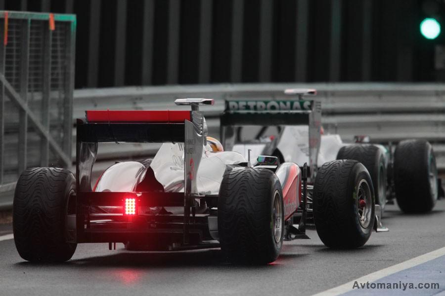 За кулисами Формулы-1, Великобритания 2011: квалификация