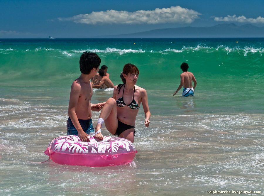 2090 Япония: Особенности японского пляжного отдыха