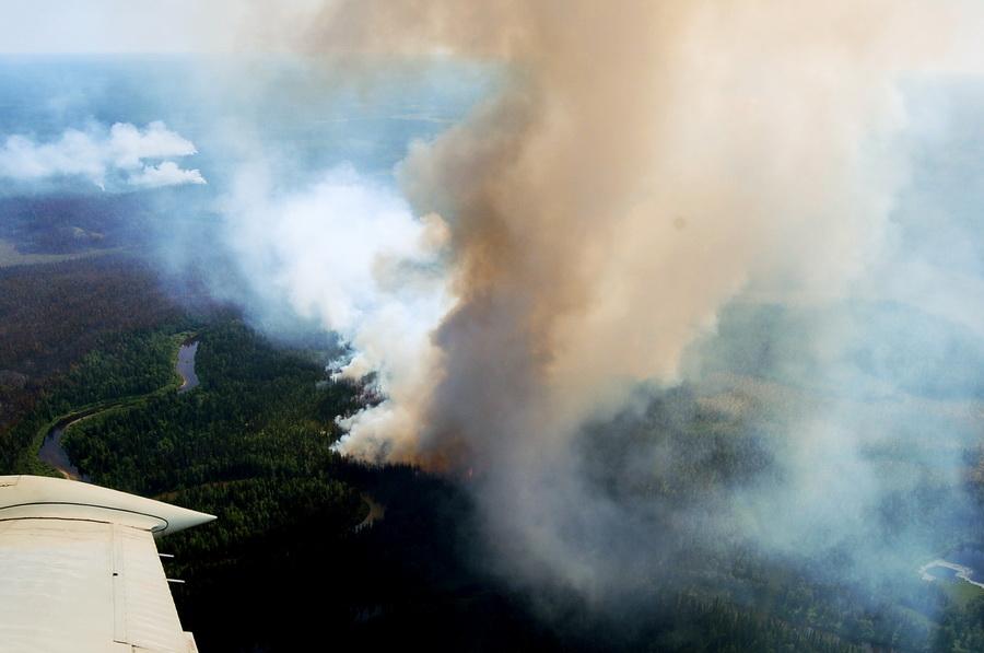 Пожары в Коми