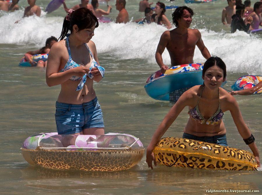 22107 Япония: Особенности японского пляжного отдыха