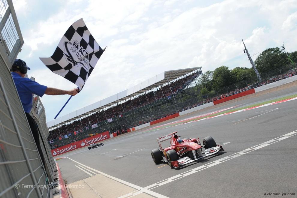 Формула-1 изнутри, Великобритания 2011: гонка