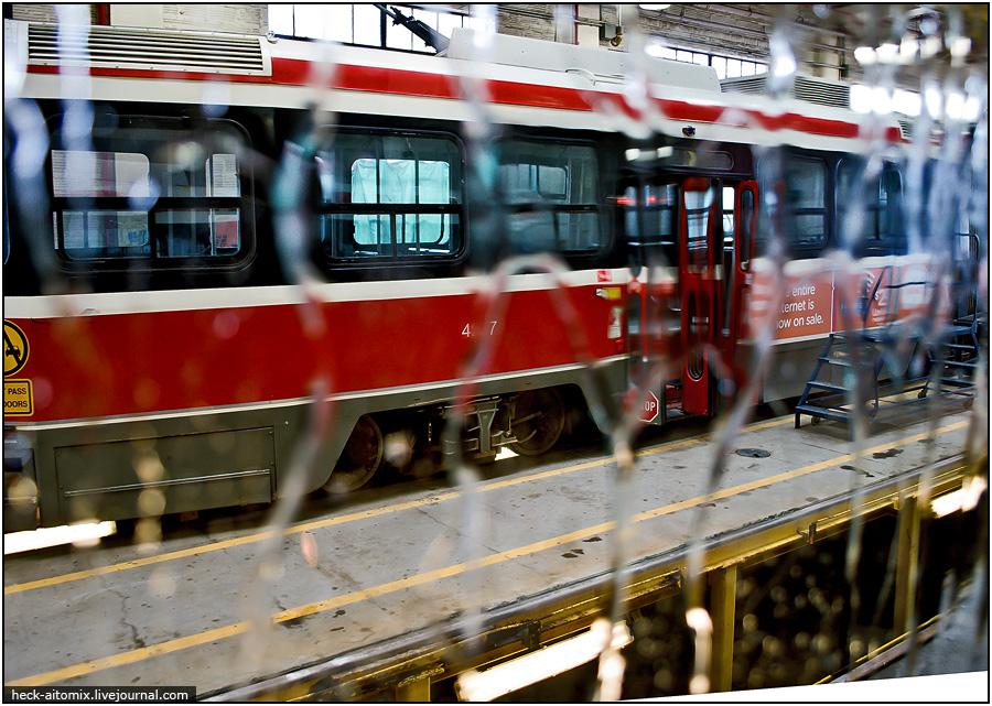 День Открытых Дверей - Трамвайное депо. [2011, Канада, Торонто]
