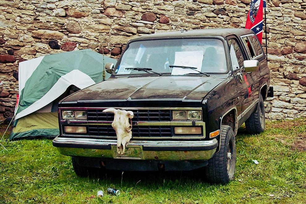 American Beauty Car Show 2011 - в замке и вокруг