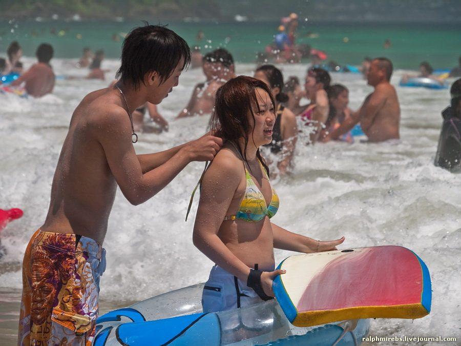 2679 Япония: Особенности японского пляжного отдыха