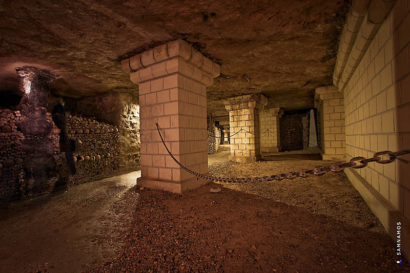 Catacombes de Paris + оссусарий