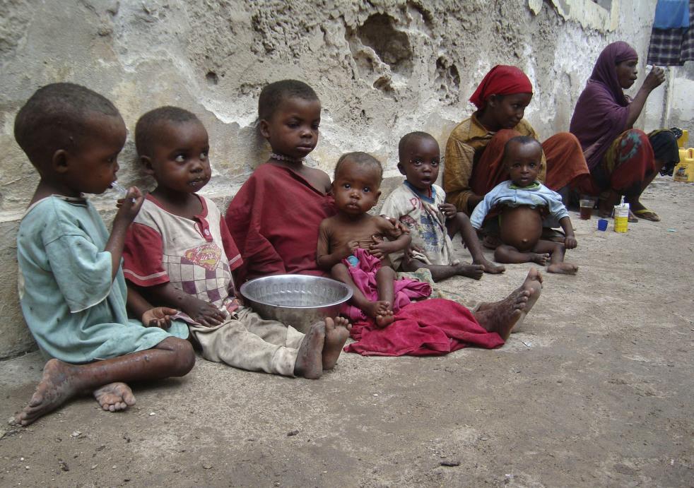 Засуха в Сомали - наихудший гуманитарный кризис