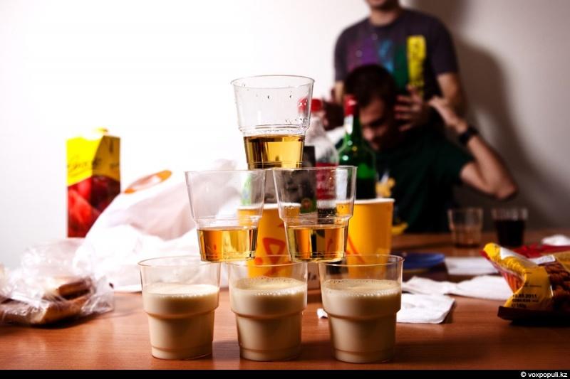 Эксперимент #1. Алкоголь
