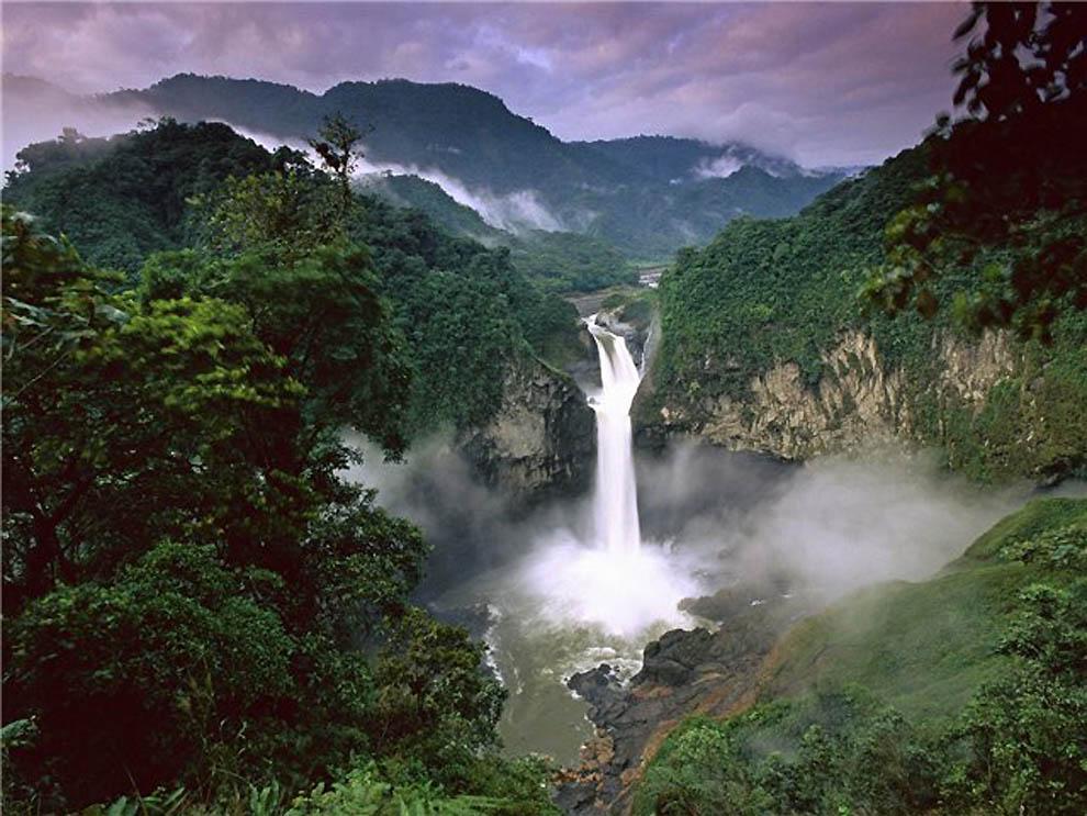 Перезимовка в Эквадоре