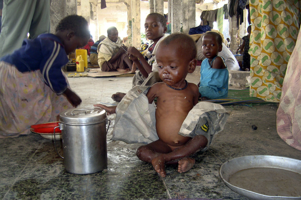 Kekeringan di Somalia - krisis kemanusiaan terburuk
