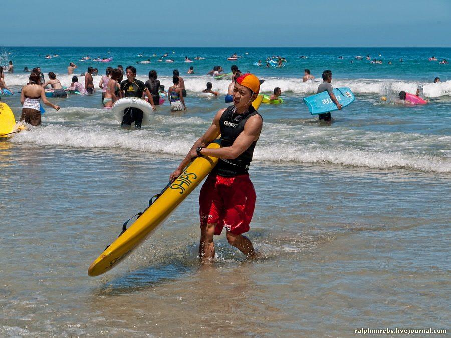3269 Япония: Особенности японского пляжного отдыха