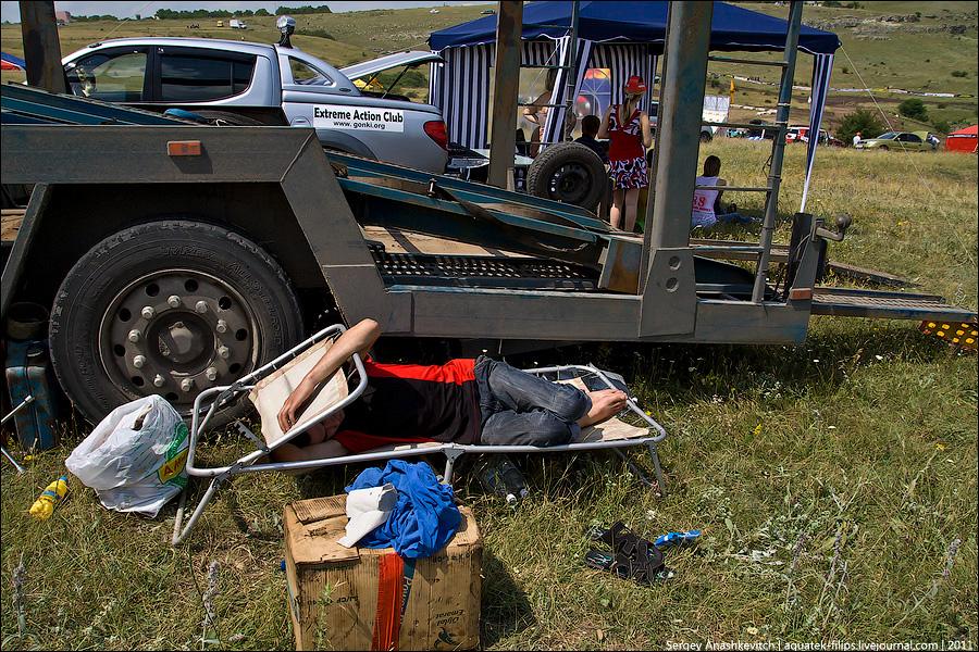 Гонки на выживание в Крыму
