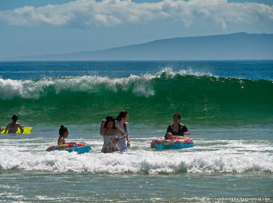 3548 Япония: Особенности японского пляжного отдыха
