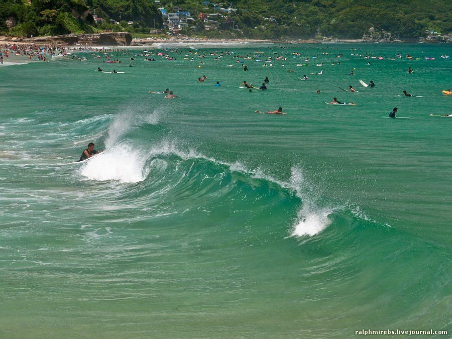 3842 Япония: Особенности японского пляжного отдыха