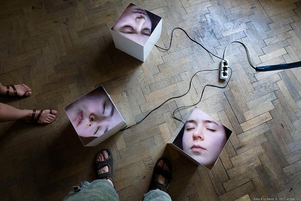 Фотографии с необычной выставки в Чехии