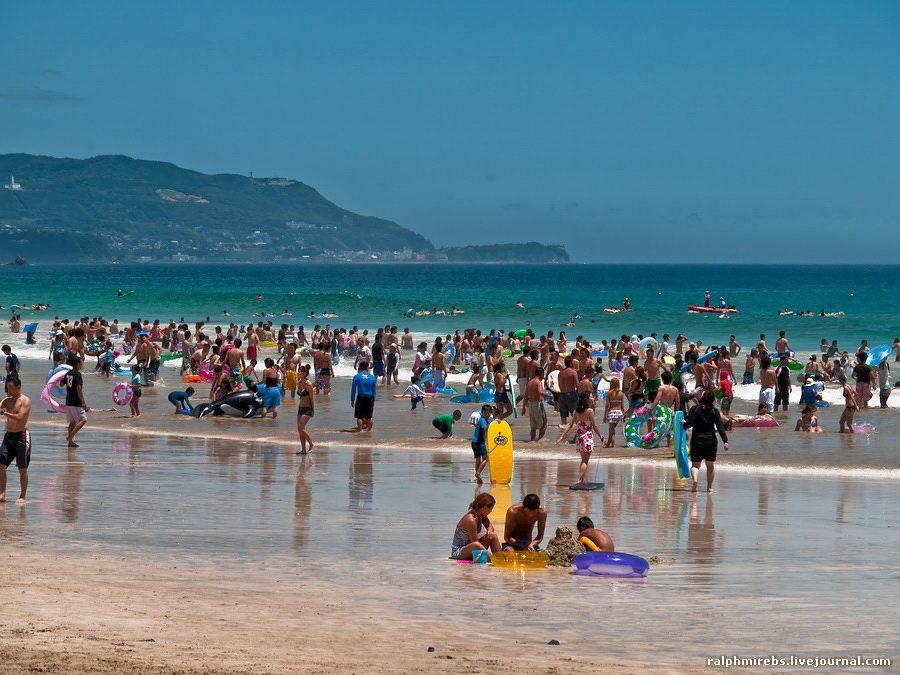 4188 Япония: Особенности японского пляжного отдыха