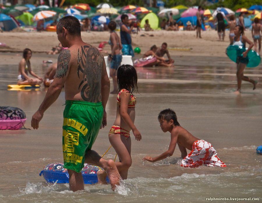 4531 Япония: Особенности японского пляжного отдыха