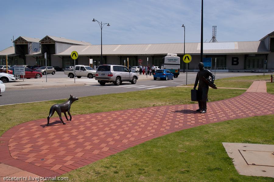 Путешествия доктора Etceterini. 7000 километров по Австралии. Часть 1. Маршрут. Перт. Фримантл