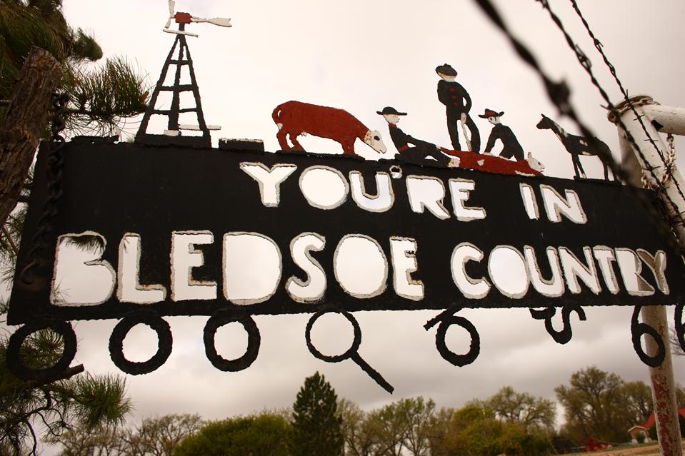 """Клеймление скота на ранчо """"Bledsoe"""""""