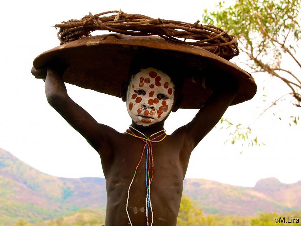 Племена долины Омо