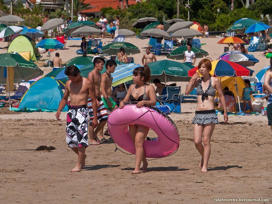 6146 Япония: Особенности японского пляжного отдыха