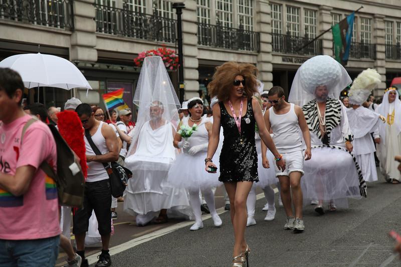 Лондонский Гей Парад или Прайд 2011