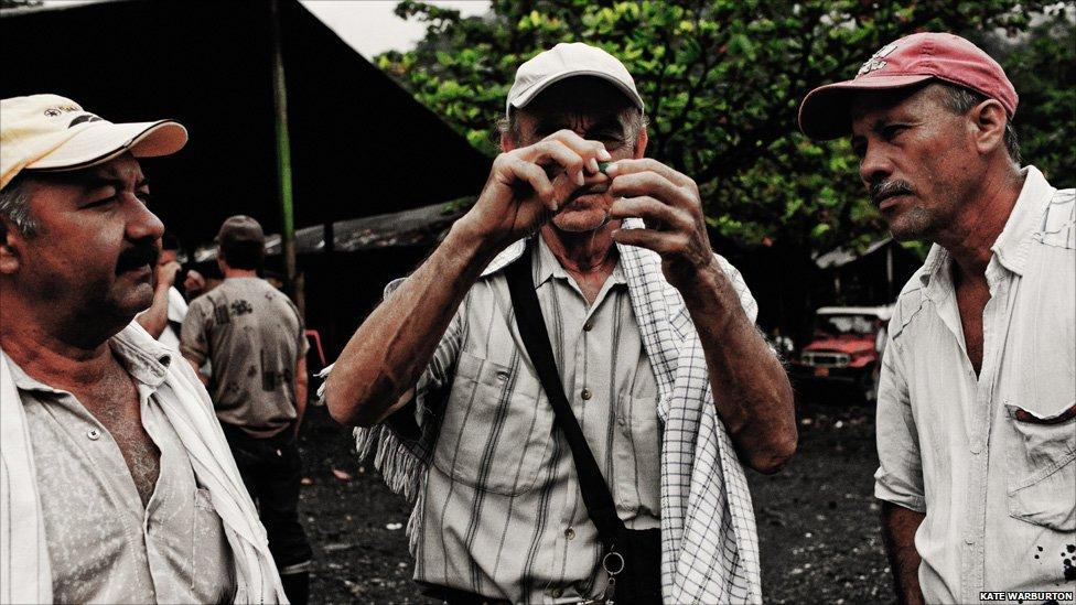 Изумрудные копи Колумбии