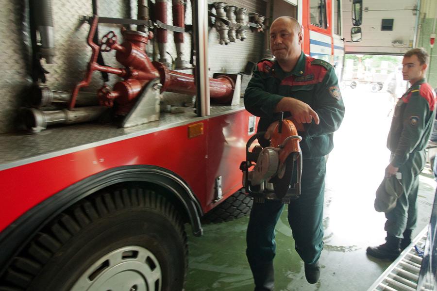 图说灾害现场:老毛子的消防救援训练 - 银河 - 银河@生存主义唱诗班