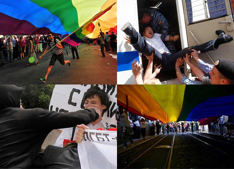 Парады ЛГБТ во всеммире